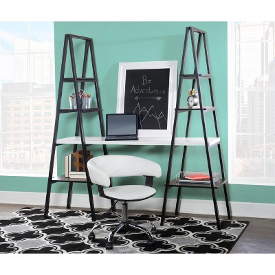 Marco Desk Set Black/White - Powell Company