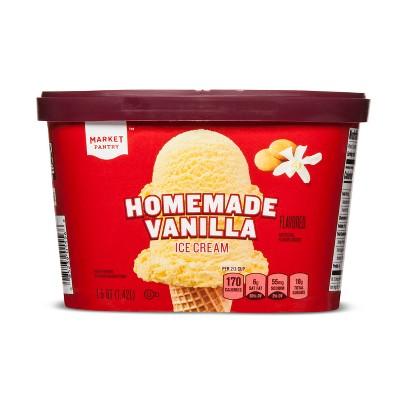 Homemade Vanilla Ice Cream - 48oz - Market Pantry™