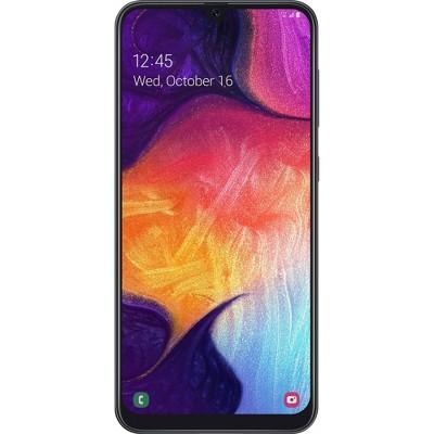 Simple Mobile Prepaid Samsung Galaxy A50 4G LTE (64GB) GSM - Black