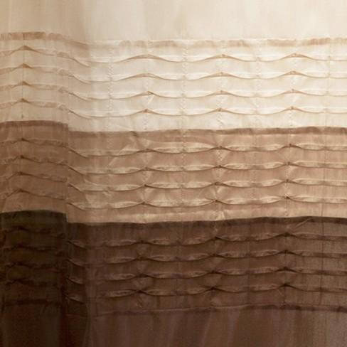 Mia Shower Curtain Wheat Taupe