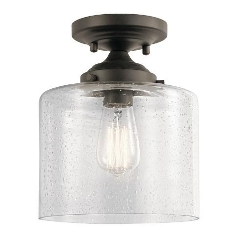 "Kichler 44033 Winslow 9"" Wide Semi -Flush Ceiling Fixture - image 1 of 2"