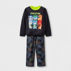 319dd11af Boys' 2pc Shuttle Graphic Long Sleeve Pajama Set - Cat & Jack™ Black ...