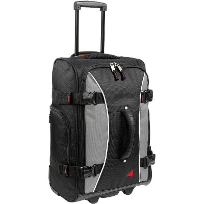 "Athalon Hybrid Travelers 21"" 2-Wheel Carry-On Luggage Gray/black"