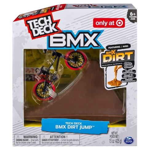 Tech Deck Bmx Dirt Jump Set Target