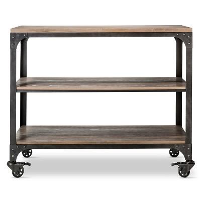 Franklin 36  3 Shelf Horizontal Bookcase