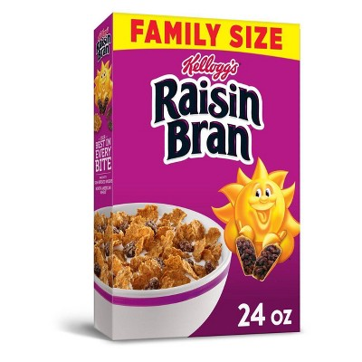 Raisin Bran Breakfast Cereal - 24oz - Kellogg's