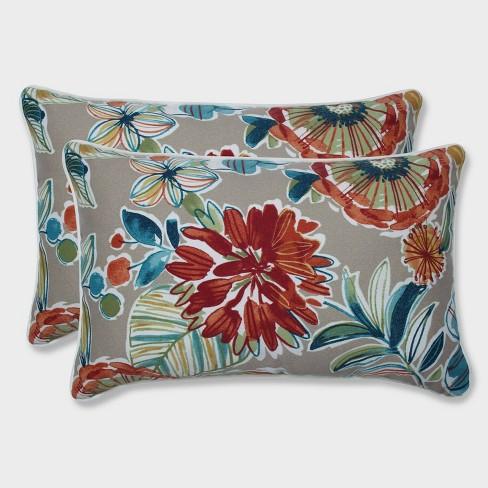 2pk Colsen Sonoma Rectangular Throw Pillows Beige - Pillow Perfect - image 1 of 1