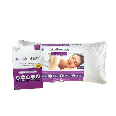 Ultimate Bed Pillow with Cover - Allerease