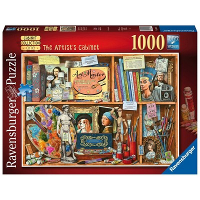 Ravensburger The Artist's Cabinet Jigsaw Puzzle - 1000pc