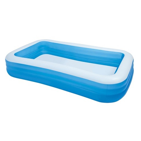 Intex 72in x 120in Swim Center Family Inch Swimming Pool and Quick Fill Air  Pump