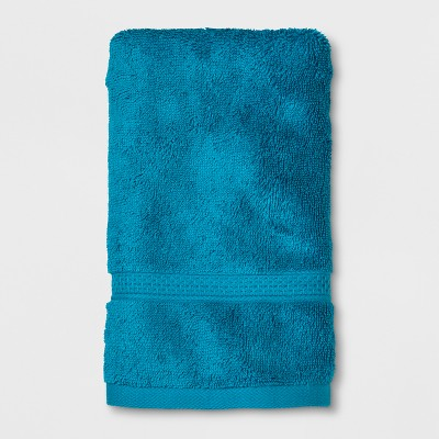 Perfectly Soft Solid Hand Towel Teal Blue - Opalhouse™
