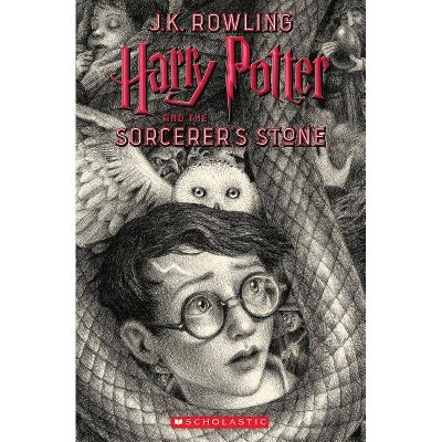 Harry Potter and the Sorcerer's Stone -  (Harry Potter) by J. K. Rowling (Paperback)