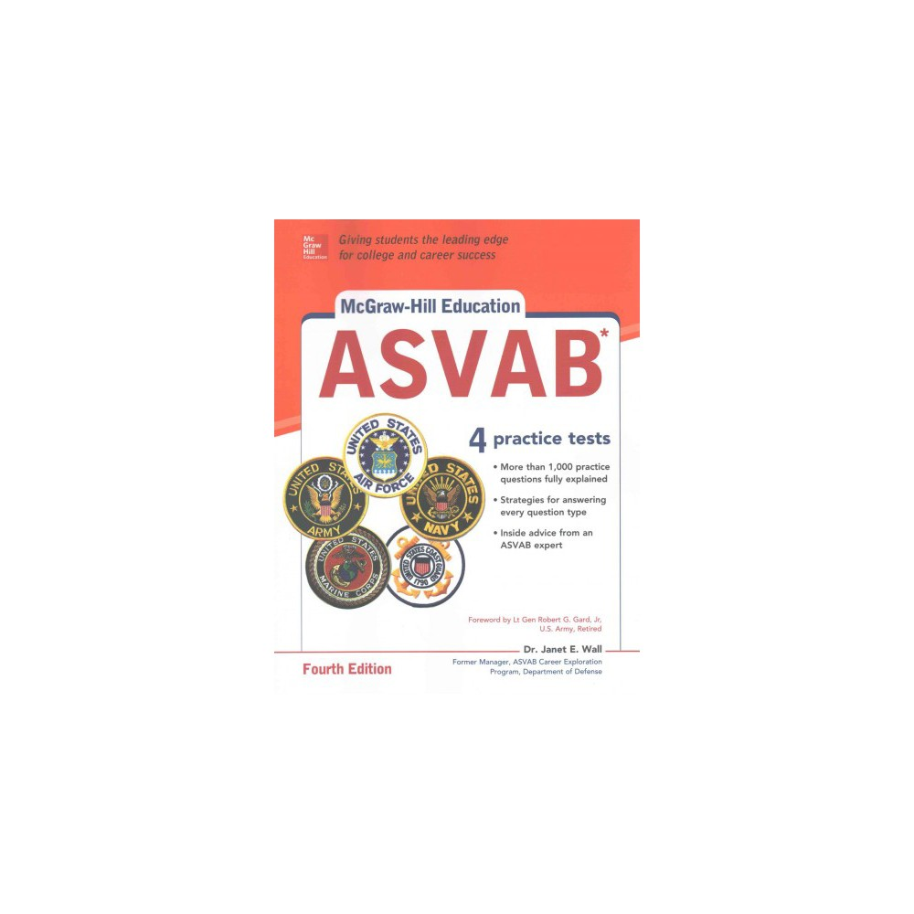 McGraw-Hill's Asvab Armed Services Vocational Aptitude Battery : Armed Services Vocational Aptitude