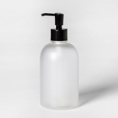 Plastic Soap/Lotion Dispenser Clear - Room Essentials™