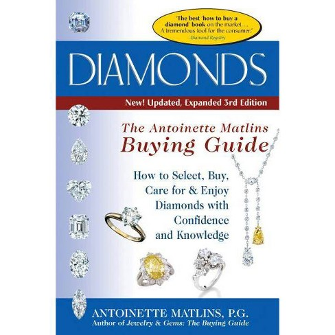 Diamonds (3rd Edition) - 3 Edition by  Antoinette Matlins (Paperback) - image 1 of 1