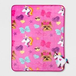 JoJo Siwa Throw Pillow Pink