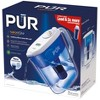 PUR 10 Cup Flip Lid Pitcher with Filter Change Light - Classic White - image 2 of 4