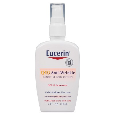 eucerin sensitive skin face lotion