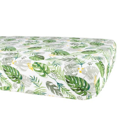 Bebe au Lait Muslin Crib Sheet Rainforest