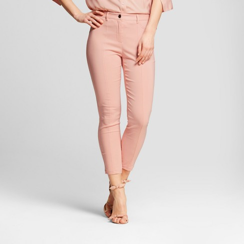 Women's Skinny Pants - Who What Wear™ Pink - image 1 of 3