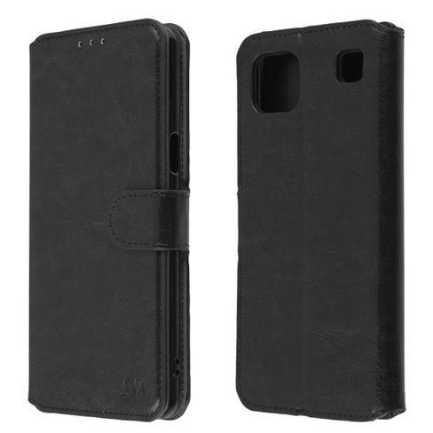 MyBat MyJacket Wallet Element Series Compatible With Cricket Grand LG K92 5G - Black - image 1 of 4