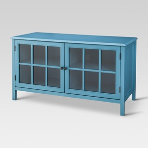 Windham TV Stand Teal - Threshold , Blue