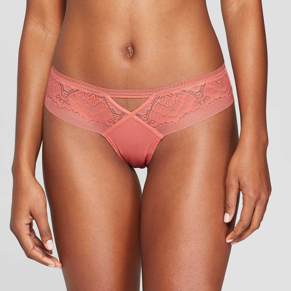 a0ccec9cc09 Womens Lace Cheeky Auden Faded Rose S Pink