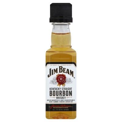 Jim Beam White Label Bourbon Whiskey - 50ml Plastic Bottle