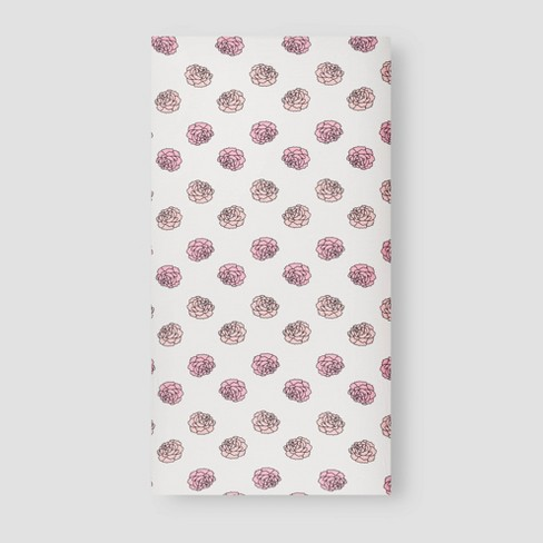 Layette by Monica + Andy Fitted Crib Sheet - image 1 of 4