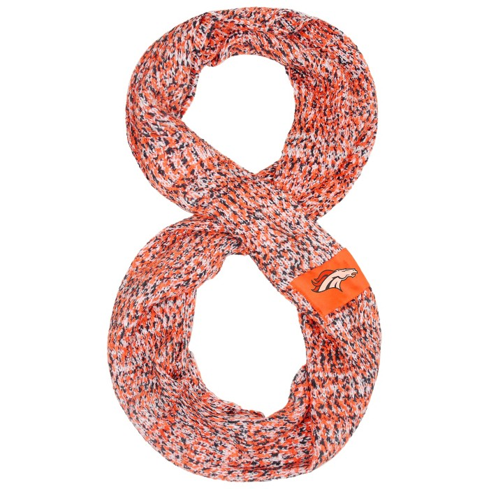 NFL Denver Broncos Chunky Infinity Scarf - image 1 of 1