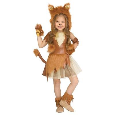 Kids' Lioness Halloween Costume (4-6)