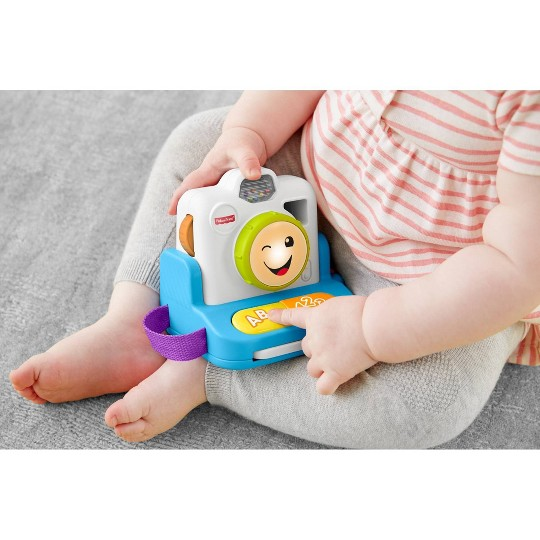 Fisher-Price Laugh 'N Learn Click & Learn Instant Camera image number null