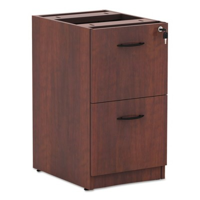 Alera® Valencia 2 Drawer File Cabinet Locking   Cherry
