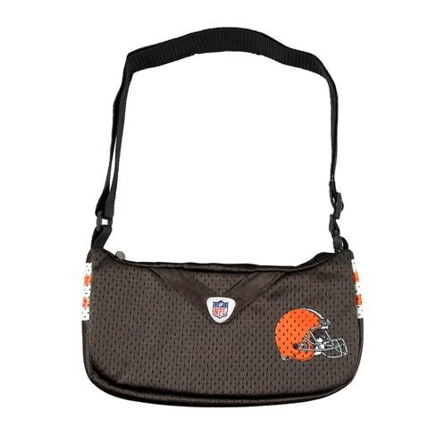 save off 49d9d 6e13b NFL Cleveland Browns Team Jersey Purse