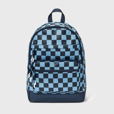 Kids' Checkered Backpack - art class™ Blue