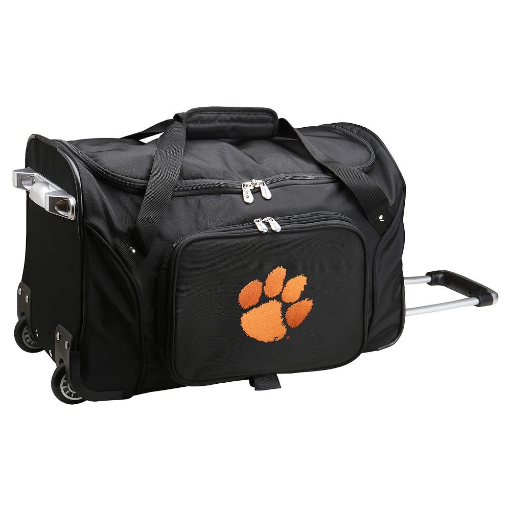NCAA Clemson Tigers 22'' Rolling Duffel Bag