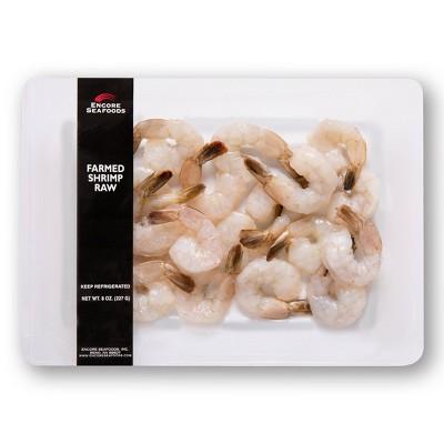 Encore Seafoods Farmed Raw Shrimp - 8oz