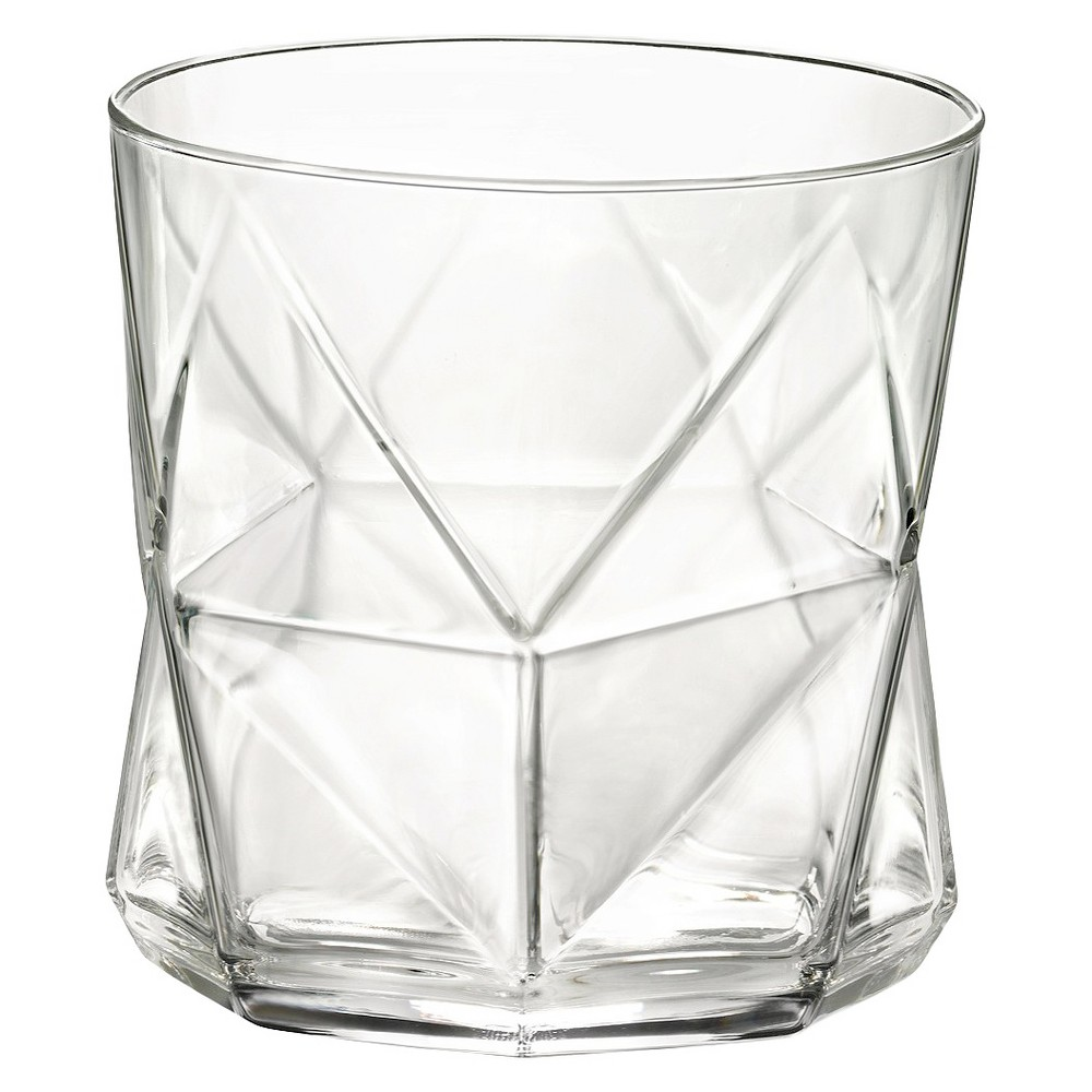 Image of Bormioli Rocco Cassiopea Rocks 11.25oz Set of 4 - Clear