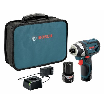 Bosch PS41-2A-RT 12V Max Compact Lithium-Ion Cordless Impact Driver Kit (2 Ah)