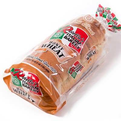 Rotella's Italian Bakery Honey Wheat Sandwich Bread - 24oz