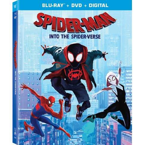 Spider-Man: Into The Spider-Verse (Blu-Ray + DVD + Digital) - image 1 of 1
