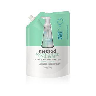 Method Foaming Hand Soap Refill Coconut Water - 28oz
