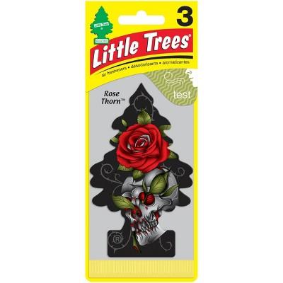Little Trees 3pk Rose Thorn Air Freshener