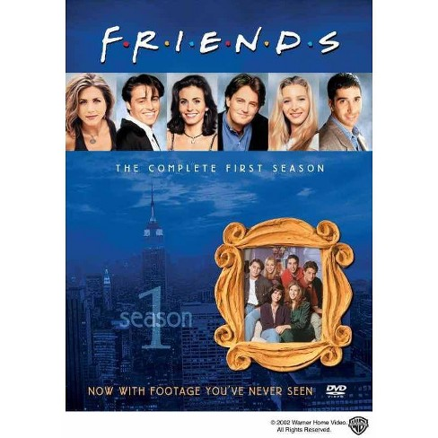 Friends: The Complete First Season (DVD) - image 1 of 1