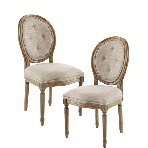 Set of 2 Wesley Dining Chair Taupe - image 1 of 10