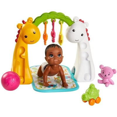Barbie Skipper Babysitters Inc. Crawling and Playtime Playset