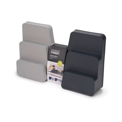 Joseph Joseph CupboardStore Expandable tiered organizer - Gray