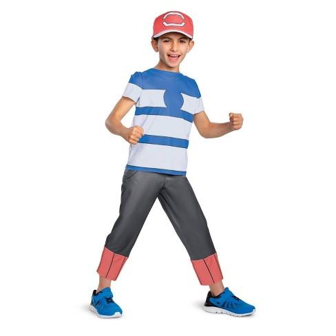 Boys' Pokemon Ash Ketchum Halloween Costume - image 1 of 1