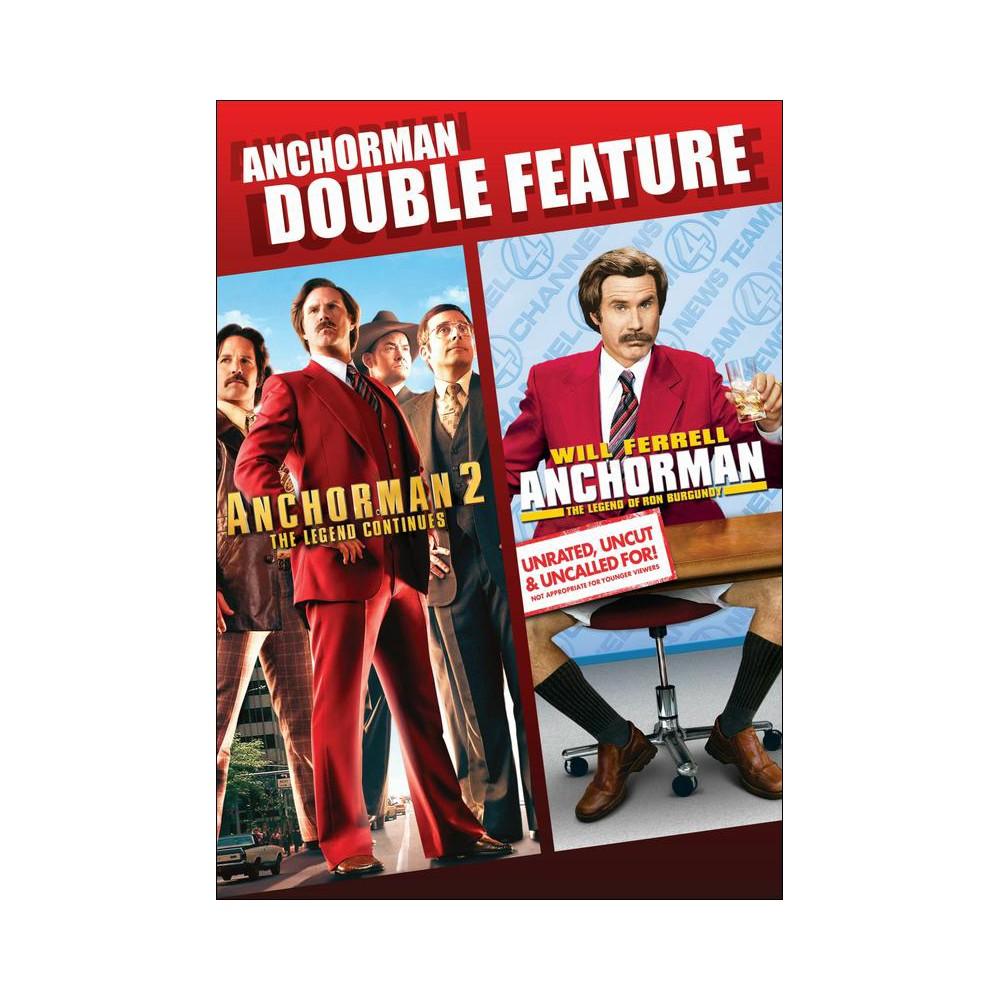 Anchorman/Anchorman 2 [2 Discs]
