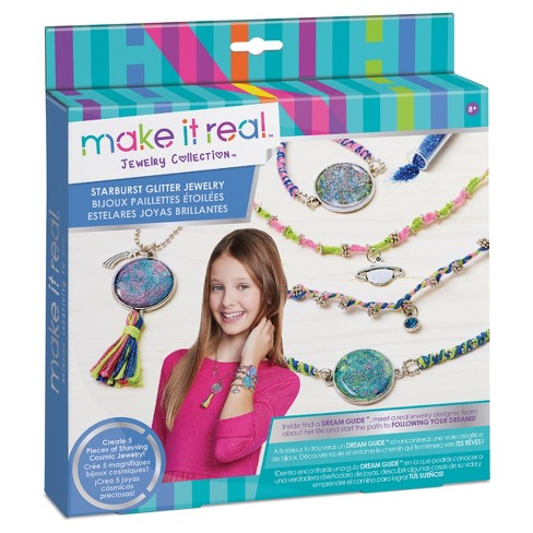 Make It Real Starburst Glitter Jewelry - image 1 of 4